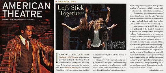 American Theatre November 2013