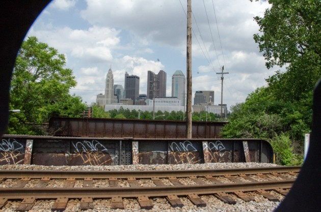 Columbus from Franklinton